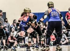 Texas Rollergirls - Honky Tonk Heartbreakers v. Hot Rod Honeys