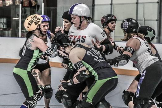Team Free Radicals v. Texas Rollergirls Hustlers