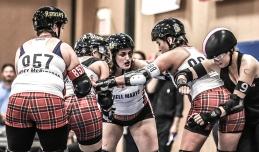 Texas Rollergirls - Helly Marys v. Hotrod Honeys