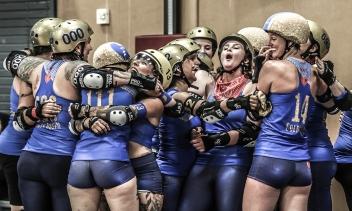 Texas Rollergirls - Honky Tonk Heartbreakers