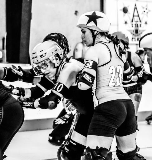 Rockin' City Rollergirls v. Texas Rollergirls Helly Marys